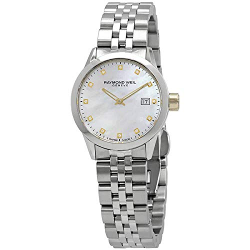 Raymond Weil Freelancer Reloj de cuarzo diamante de las señoras 5660-STG-97081