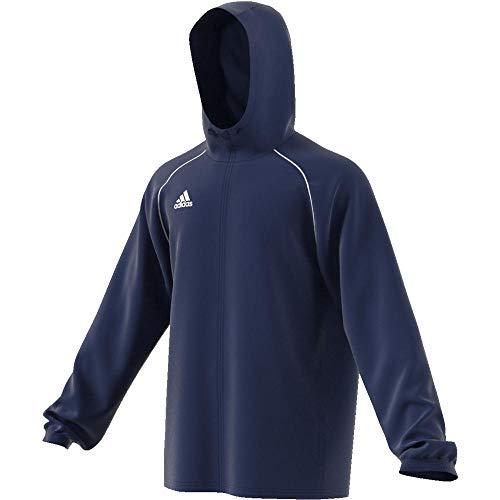 adidas Herren CORE18 RN JKT Sport Jacket, Dark Blue/White, M