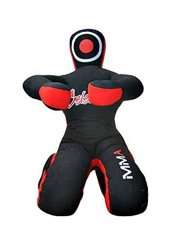 Celebrita MMA Judo Boxsack Grappling Dummy - sitzender Position Hände vor MMA382 Canvas - Black 59