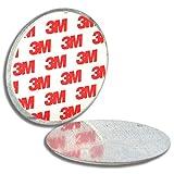 5 soportes magnéticos para detectores de humo 3M, pegados