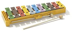 Eleven multi-colored tone bars for a wide note range Bars are precision tuned in Germany Classroom tested for durability One of a full line of fun kids percussion instruments by Hohner For ages 3 years and older