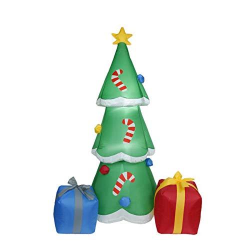 Huilai �rbol De Navidad Inflable De 1,8 M, �rbol De Navida