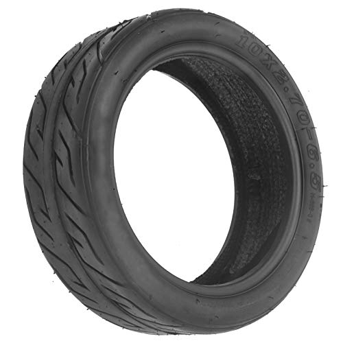 Dilwe 10-Inch Universal Outside Scooter Tire for Balance Scooter, Tire Cover for Electric Scooter Tire Vacuum Rubber Wheel 10x 2.70‑6.5