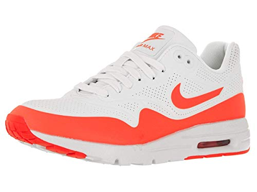 Nike WMNS Air Max 1 Ultra Moire Ladies Trainers White 704995 103, Size:37.5