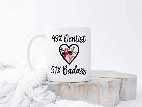 Keyboard cover Zahnarzt Kaffeetasse Geschenke für Zahnärzte Zahnarzt Abschlussgeschenk New Dental Graduate Ceramic White Mug ^ A1