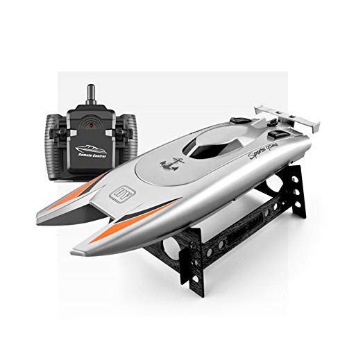 RC Boats Remote Control Boats for Kids Adults 2.4Ghz Radio Controlled Boat Self Righting Rechargeable 30Km/H High Speed Race Boat Toys Gifts for Pools and Lakes
