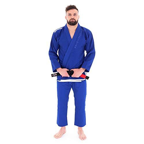 Tatami Fightwear Competitor Gi BJJ, Hombre, Blue, A3