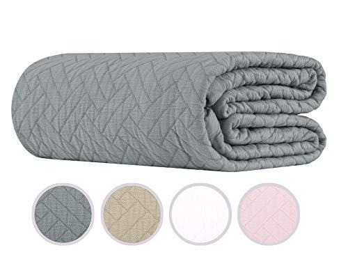 Colcha Jacquard marca Threadmill Home Linen