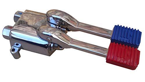 Pedal para grifo frío y caliente acero inoxidable. Alta calidad.