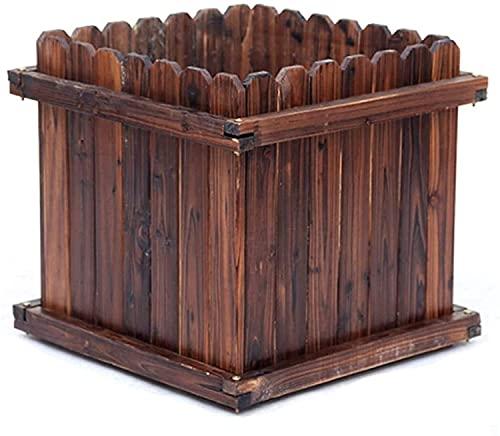 Storage jar Mesa De Cultivo Huerto Urbano Caja de plantación de Cama de jardín elevada Kit Cuadrado Exterior Tornillos de Metal a Prueba de óxido Contenedor de Orificio de Drenaje