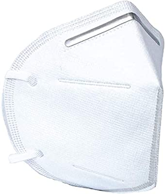 5 Layer Protection Breathable Face Mask KN95 (20 pcs) – Filtration>95% with Comfortable Elastic Ear Loop | Non-Woven Polypropylene Fabric from emercate