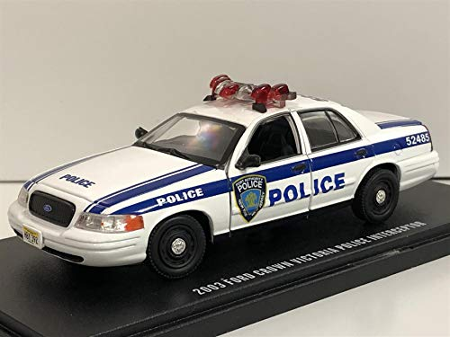 Greenlight Ford Crown Victoria Police Interceptor NYPD Port Authority 2003 weiß Modellauto 1:43 Collectibles