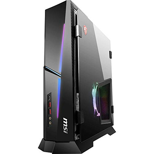 MSI Trident X Plus 9SE-491DE Slim PC - Intel Core i7-9700KF, 32GB DDR4, 1TB SSD, 1TB HDD, Nvidia GeForce RTX 2080 Super 8GB, Wireless 11ax & Bluetooth 5.1, Windows 10 Home - 9S6-B92631-491 (Renewed)