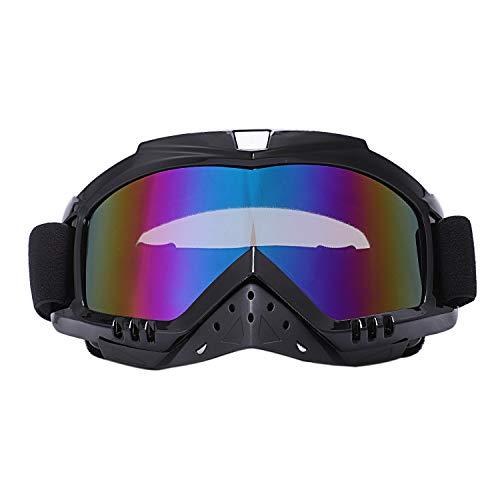 SODIAL Gafas Gafas De Protección De Motocicleta Casco Todoterreno MX Ciclismo Esquí...