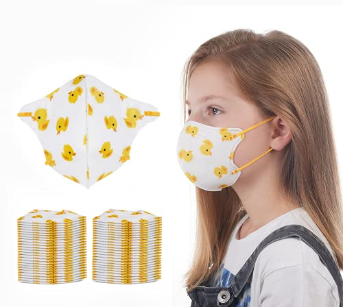 Kids Face Mask - 50 pack - Small Size Face Mask (3-10 years) - Children Dust Mask for School Crafts, Smoke, DIY and more