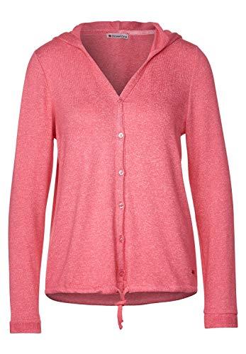 Street One Damen Shirtjacke in Melange-Optik Sugar pink Melange 38