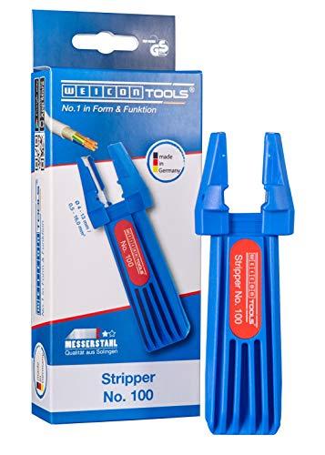 WEICON TOOLS Stripper No. 100 / Multifunktions-Abisolierwerkzeug für verschiedene Kabeltypen