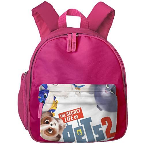 Zhenzhan Lightweight Kids Preschool Bags Best Friendship Printed Backpacks For Boys/Girls