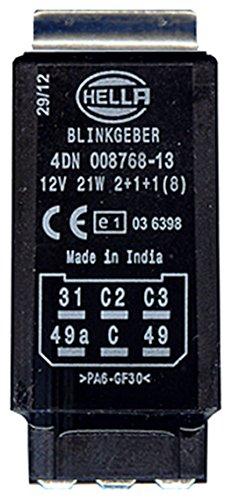 HELLA 4DN 008 768-131 Blinkgeber, 12V, elektronisch, mit Halter