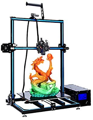 ADIMLab Gantry Pro 3D Printer Pre-assembly with 310X310X410 Build Volume, Lattice Glass Platform Resume Print, Run Out Detection, 24V15A UL Certified Power, Modifiable to Upgrade to Auto Leveling&WIFI