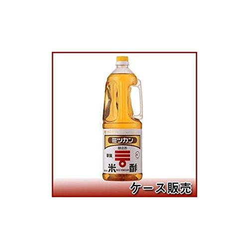 ミツカン 米酢 ペット 1.8L × 6本