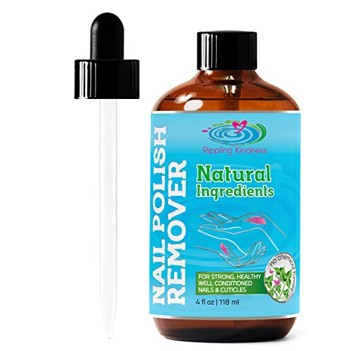 Nail Polish Remover - Natural and Plant Based - Non Acetone - Conditioner and Strengthener for Nails...