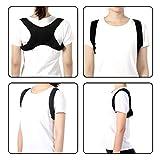 Corrector de postura para hombres y mujeres que proporcionan soporte de clavícula y...