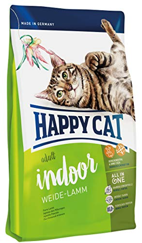 Happy Cat Indoor Adult Weide-Lamm, 1er Pack (1 x 4 kg)