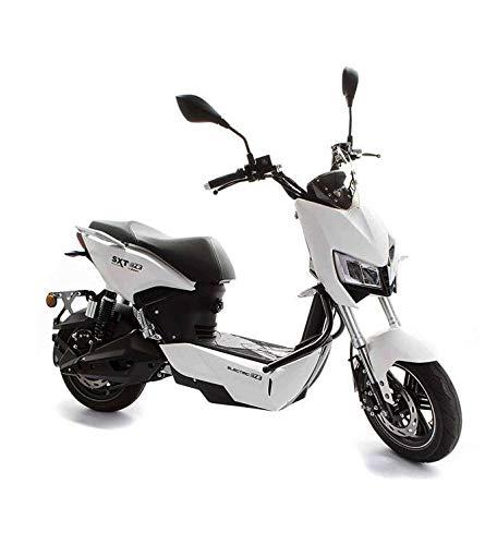 SXT Z3 Elektroroller, E-Scooter mit 120km Reichweite, E-Roller für Erwachsene mit Straßenzulassung, Scooter m. abnehmbarem 60V Li-Ion Akku 2h Ladezeit, 55Ct Betriebskosten, 2500W Motor, ab 16 Jahren