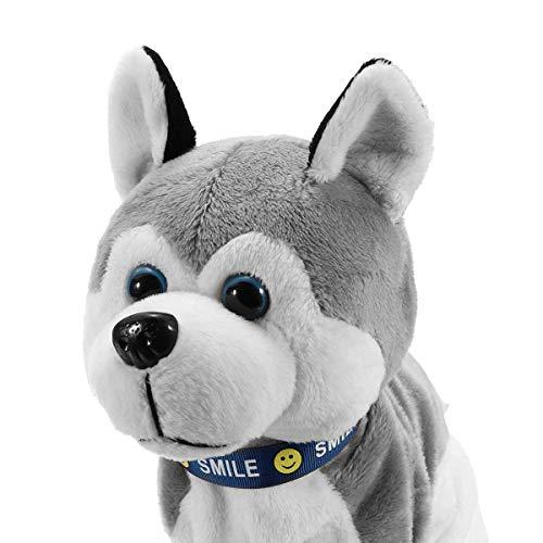 YOUSI Elektronische Roboter Hund Kinder Control Sound Control plüsch Sound Control interaktive rinde elektronische Walk hundespielzeug Stehen für Baby Geschenke
