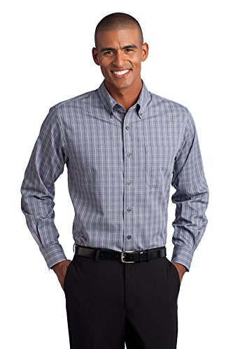 Port Authority Men's Tall Tattersall Easy Care Shirt