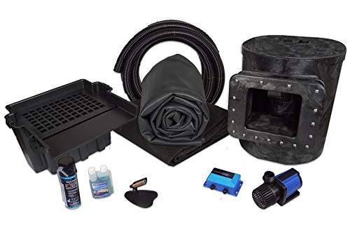 HALF OFF PONDS - Simply Ponds 3000 Water Garden and Pond Kit with 15 Foot x 20 Foot EPDM Liner - SAN0