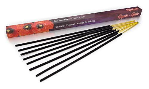 Premium Räucherstäbchen Opium: natürlich traditionell aus Indien in fairer Herstellung, 8 Stück je 45min. Zum Stress Abbau