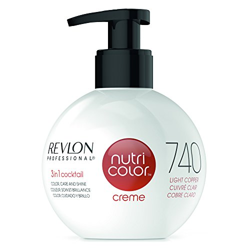 REVLON PROFESSIONAL Nutri Color Creme 740 Kupfer (270 ml)