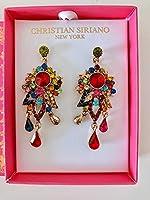 耳飾り earring ladies レディース Christian Siriano (Clorful)