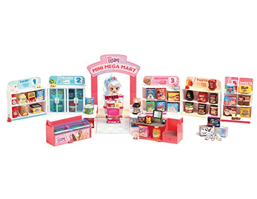 Shopkins HPKG0000 Flair Real Littles Mini Packs Pop up Shop Playset, Multicolour