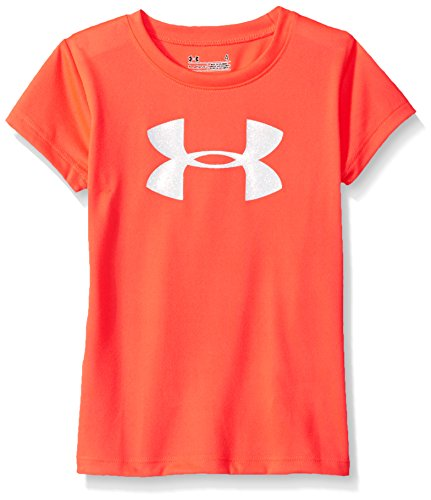 Under Armour Girls' Wordmark Logo Short Sleeve Tee