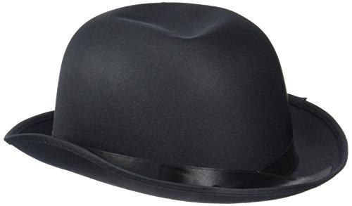 Rire Et Confetti - Fiedis066 - Accessoire pour Déguisement - Chapeau Melon Noir