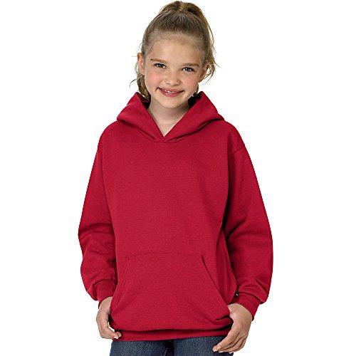 Pullover Hoodie (P473) Deep Red, S