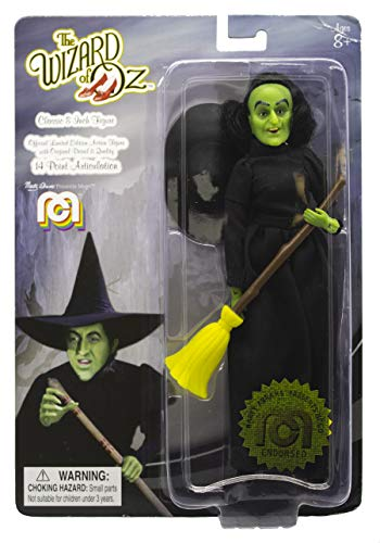 "Mego Action Figures, 8"" Wizard of Oz - Wicked Witch (1st Time Available in Single Pack) (Limited Edition Collector's Item)"