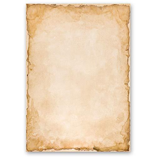 50 Blatt Briefpapier Antik & History VINTAGE - DIN A5 Format - Paper-Media