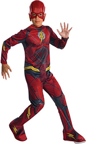 Rubie's Flash Justice League Movie Classic Kinderkostüm Spain Modern L (8-10 años) Mehrfarbig