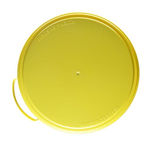 KUEFA Deckel Müllsackständer/Mülleimer (Ersatz) (Gelb)