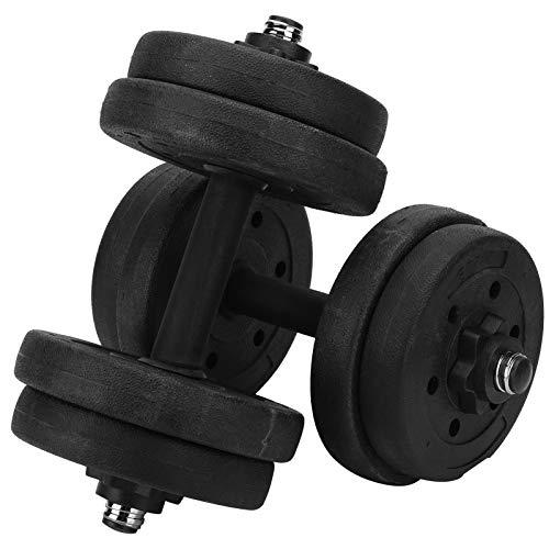 SALUTUYA Équipement de Fitness antidérapant avec haltère réglable pour entraînement de Fitness