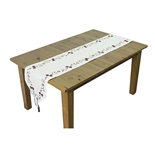 Fu Man Li Trading Company Drapeau de la table de lin minimaliste moderne A+ (taille : 180 * 40 cm (70.86 * 15.74 in))