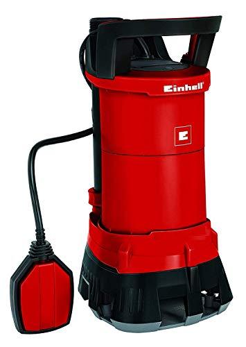 Einhell GE-DP 6935 ECO - Bomba de aguas sucias (690W, capacidad de 17.500l/h, profundidad max. de inversión 7m, conexión de manguera 47.8mm, cuerpos extraños hasta 35 mm) (ref.4170720)