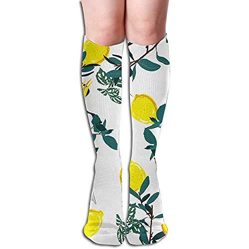 heefan Calcetines de compresin con estampado de bosque, loro, pjaro, selva, verano, deportes tropicales, recreacin