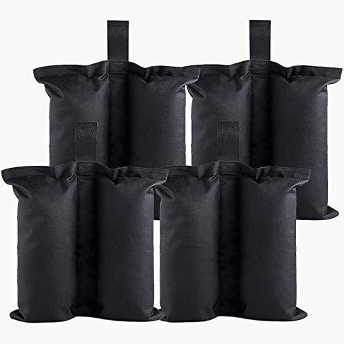 FENRIR Pavillion Gewichtsbeutel, 4er Set Sandsack Gewicht,Beingewichte für Pop Up Baldachin Zelt,Faltpavillon,Gewichtete Füße Tasche