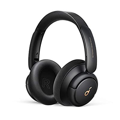 Soundcore by Anker Life Q30 Hybrid Active Noise Cancelling Headphones with Multiple Modes, Hi-Res Sound, 40H Playtime, Fast Charge, Soft Earcups, Bluetooth Headphones, Travel from Anker