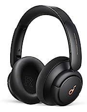 Soundcore by Anker Life Q30-hoofdtelefoon met hybride actieve ruisonderdrukking en meerdere modi, Hi-Res, 40 uur afspeeltijd, heldere gesprekken, snelladen, zachte oorstukken, Bluetooth-hooftelefoon.